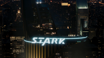 Stark Tower, a beacon of self sustaining clean energy.