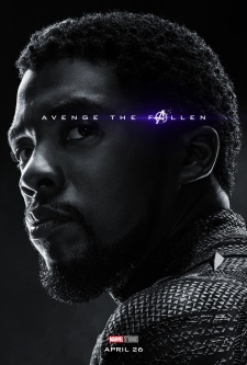 T'Challa/Black Panther AVENGERS: ENDGAME Character Poster