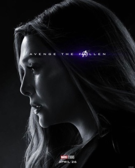 Wanda Maximoff/Scarlet Witch AVENGERS: ENDGAME Character Poster