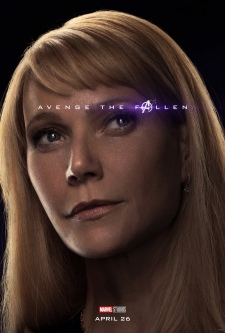 Pepper Potts/Rescue AVENGERS: ENDGAME Character Poster