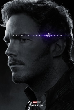 Peter Quill/Star-Lord AVENGERS: ENDGAME Character Poster