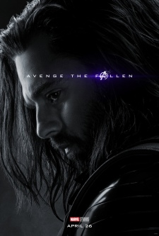 "James ""Bucky"" Barnes/The Winter Soldier AVENGERS: ENDGAME Character Poster"