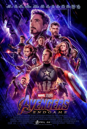 Official Avengers: Endgame Movie Poster