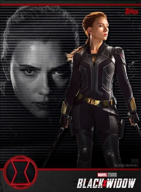 Topps Black Widow Card